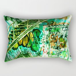 Graffiti Alley Toronto Rectangular Pillow
