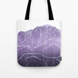 Colorado Mountain Ranges_Pikes Peak Tote Bag