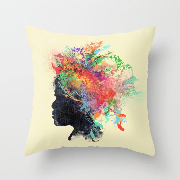 Wildchild (aged ver) Throw Pillow