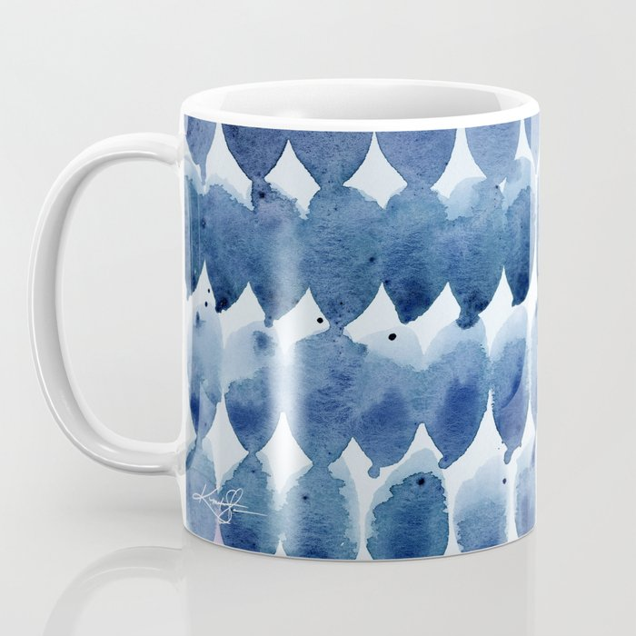 Color Jewels No 12 by Kathy morton Stanion Coffee Mug
