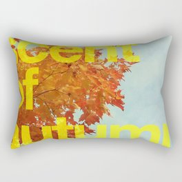 The scent of autumn. By Angelica Ramos Rectangular Pillow