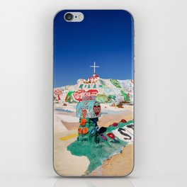 The colorful mountain iPhone Skin