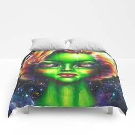 Iconic Alien Women: Marilyn Comforters