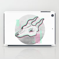 glitch iPad Cases featuring Glitch by Sonia Lazo