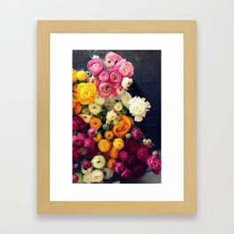Loads of Ranunculus Framed Art Print