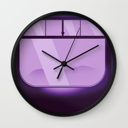 Travel - By Locomotive Wall Clock
