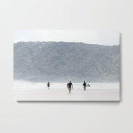 Surreal Surf Metal Print