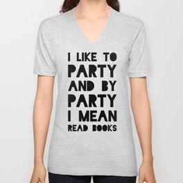 Party Unisex V-Neck