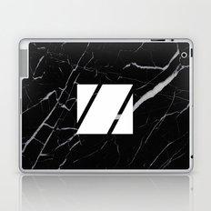 Black Marble - Alphabet Z Laptop & iPad Skin