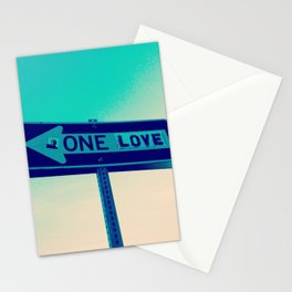 One Way, One Love Stationery Cards