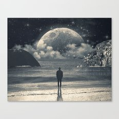 Meeting with her Canvas Print