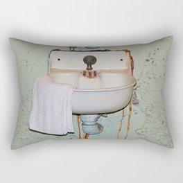 Alcatraz Sink Rectangular Pillow