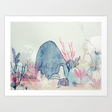 sea wonderland Art Print
