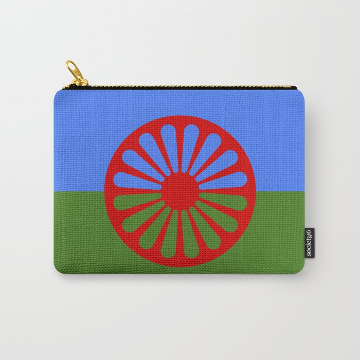 gypsy flag Carry-All Pouch
