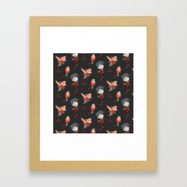 Birs pattern Framed Art Print