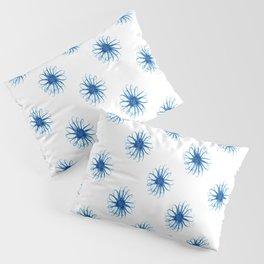 Blue Daisies Pillow Sham