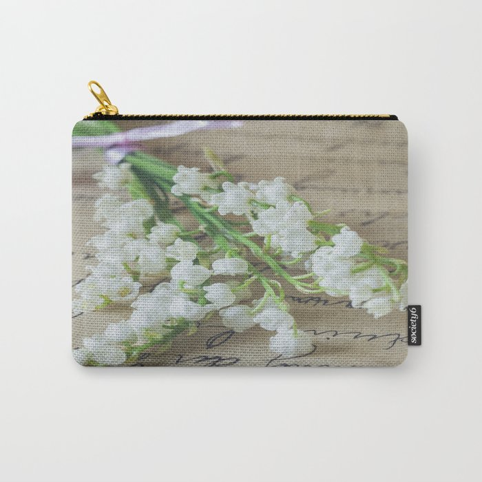Love letter with lily of the valley Carry-All Pouch