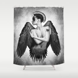Angel Goddess Angelic Angels Divine Feminine Art Shower Curtain