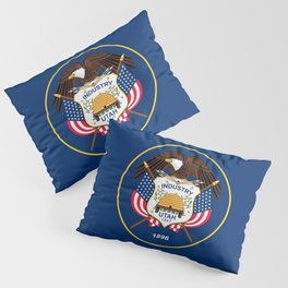Utah State Flag Pillow Sham