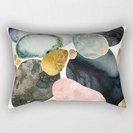 Pebble Abstract Rectangular Pillow