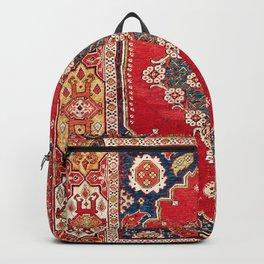 Transylvanian Manisa West Anatolian Niche Carpet Print Backpack