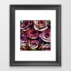 :: Rose Colored :: Framed Art Print