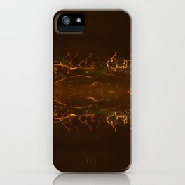 Ray of Lights 3 iPhone Case