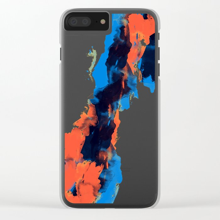 Tectonic Clear iPhone Case