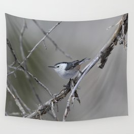 White-breasted Nuthatch Wall Tapestry
