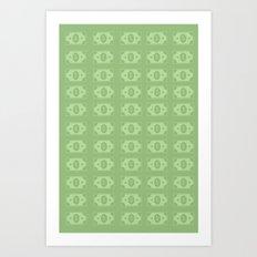 DOLLARS, DOLLARS, DOLLARS!!! Art Print