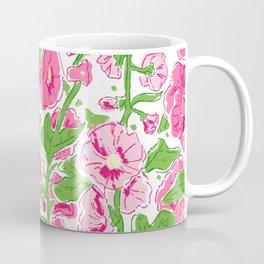 Hollyhocks multi color Coffee Mug