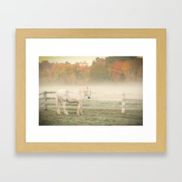 A Horse With No Name Framed Art Print