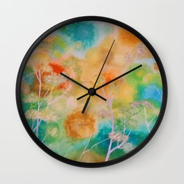 Mess in My Mind Wall Clock