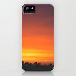 SUNRISE - SUNSET - ORANGE SKY - PHOTOGRAPHY iPhone Case