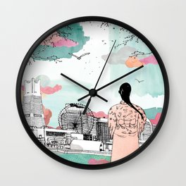 Yokohama Ferry Terminal Wall Clock