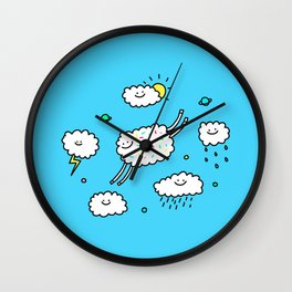 Happy Weather Wall Clock