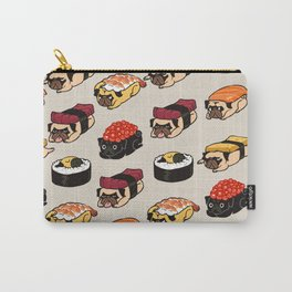 Sushi Pug Carry-All Pouch