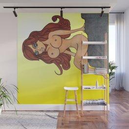redheaded cutie Wall Mural