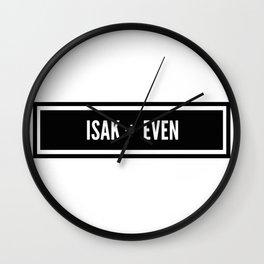 Isak x Even Wall Clock