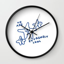 Cool bois Wall Clock