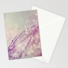 Vintage Feather Drops Stationery Cards