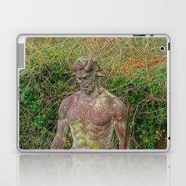 Jersey Satyr Statue Laptop & iPad Skin