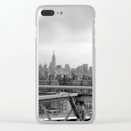 Urban Jungle - NYC Skyline Clear iPhone Case