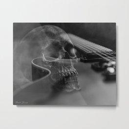 STRINGS AND BONES Metal Print