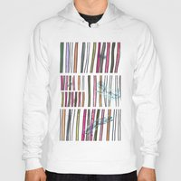 swimming Hoodies featuring Swimming by Lidia Ganhito