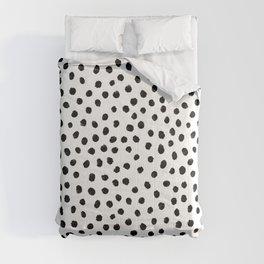 Dalmation Brushstroke Spots Comforters