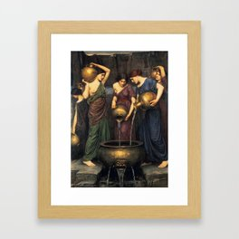 John William Waterhouse - Danaides Framed Art Print