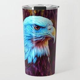 Bronze Feathers Travel Mug