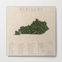 Kentucky Parks Metal Print