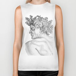 Ignudi. after Michael Angelo Biker Tank